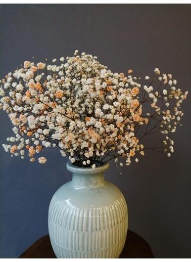 Kuru Çiçek Deposu Kuru Çiçek 1.Kalite Şoklanmış Dökülmeyen Turuncu Cipso Demeti Oranj